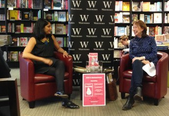 Chitra Ramaswamy launches Expecting in Edinburgh