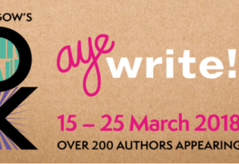 See Saraband authors at Glasgow's Aye Write! Festival