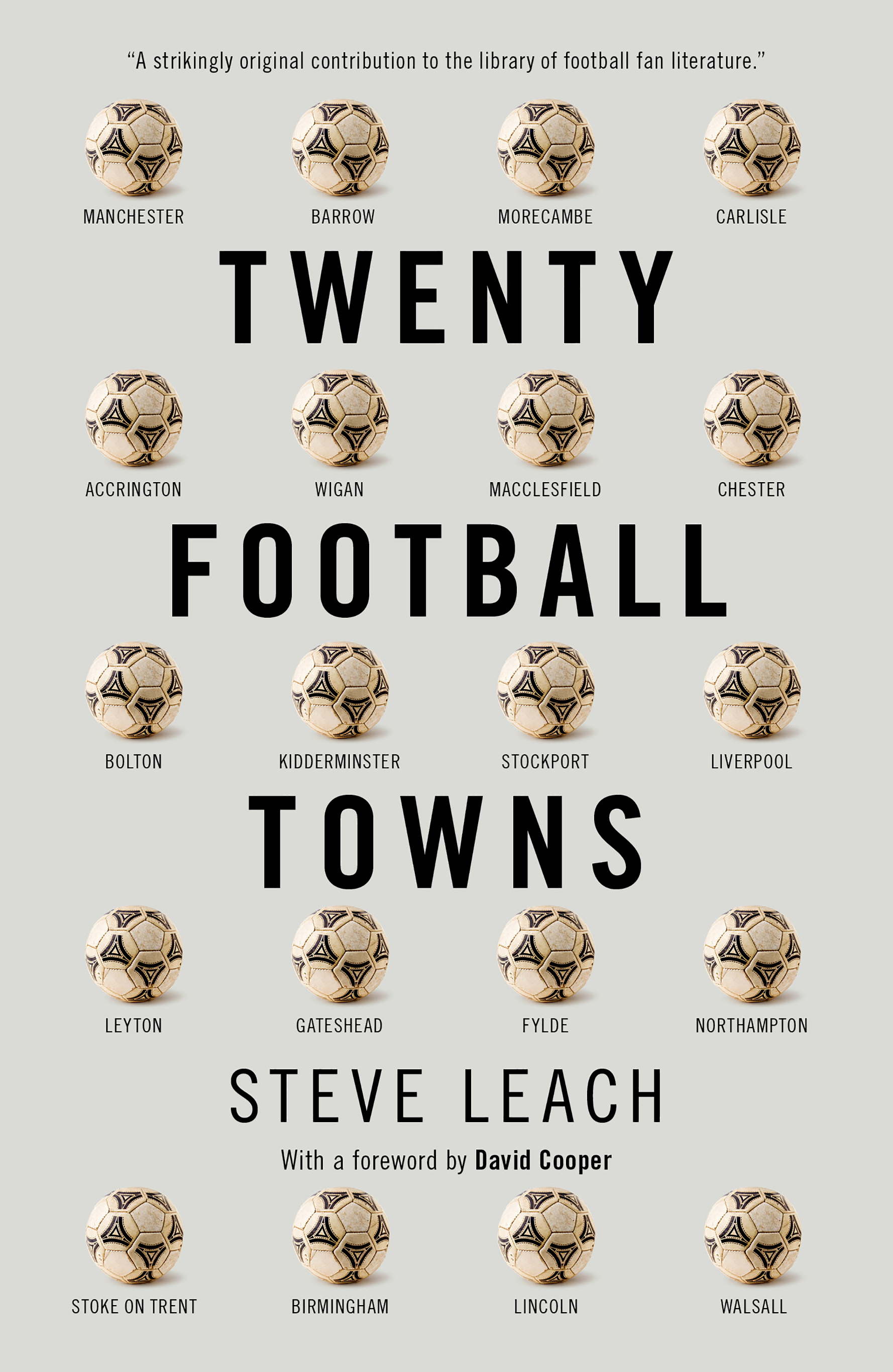 Twenty Football Towns: Signed Copies